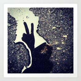 Peace of Me Art Print