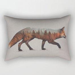 The Red Fox Rectangular Pillow