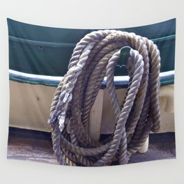 Old Rope Wall Tapestry