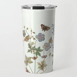 The fragility of living - botanical illustration Travel Mug