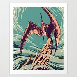 Pterodactyl Art Print