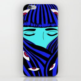 AnxietyArt iPhone Skin