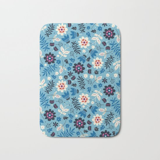 Fresh Blossoms Bath Mat