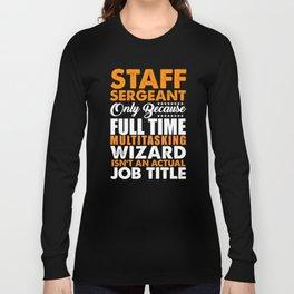 Staff Sergeant Wizard Long Sleeve T-shirt