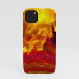 The Red Planet. iPhone Case