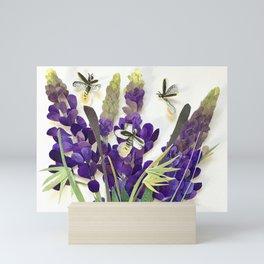 Light Bug Lavender Mini Art Print