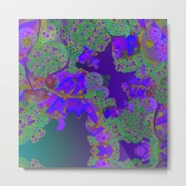 """""""Be yourself (Pop Fantasy Colorful Pattern 02)"""" Metal Print"""
