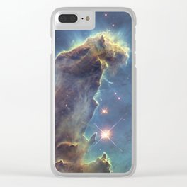 The Pillars of Creation Clear iPhone Case
