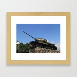 tank Framed Art Print