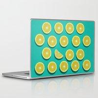 fruit Laptop & iPad Skins featuring fruit  by mark ashkenazi