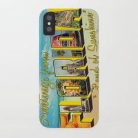 florida iPhone & iPod Cases featuring Florida by JessicaSzymanski