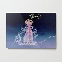 Cinderella Cocaine Attitude Metal Print