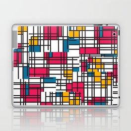 Pink, Blue, & Mustard Laptop & iPad Skin