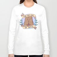 heymonster Long Sleeve T-shirts featuring Butts A by heymonster
