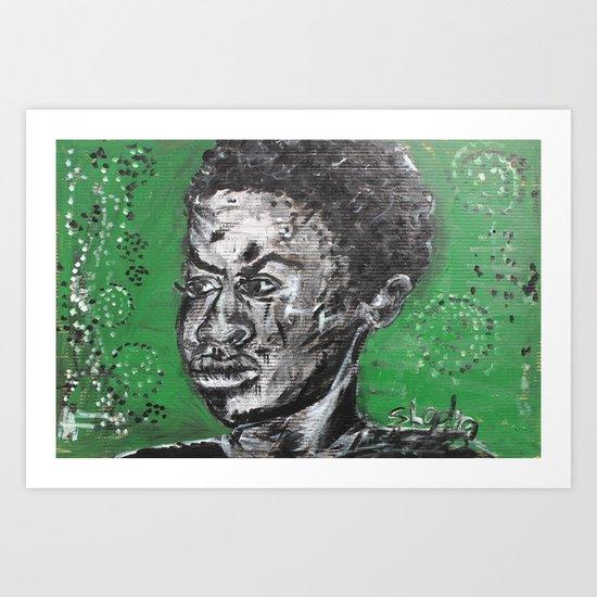 He is just a boy Art Print