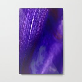 sparkly blue Metal Print