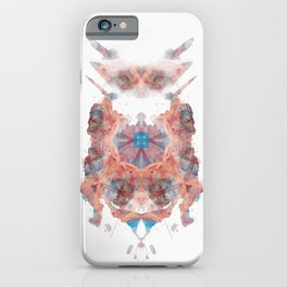 Rorschach inkblot LII iPhone Case