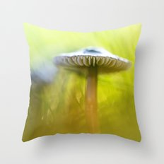 Mighty Marvelous Mushroom.... Throw Pillow