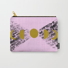 Of mountains & moons - lavender Carry-All Pouch
