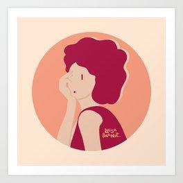 Luisa Brandt`s brand! Art Print