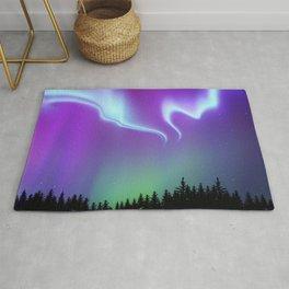 Aurora Synthwave #16 Rug