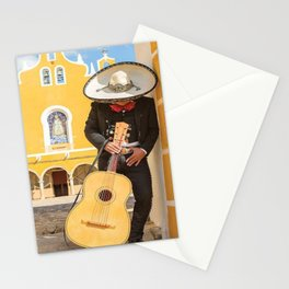 Mexican Mariachi Canvas Wall Art by Matteo Stationery Cards