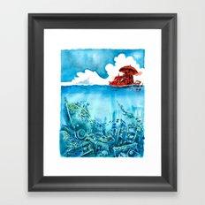Junkyard Framed Art Print