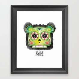 SALVAJEANIMAL DEADMex Framed Art Print