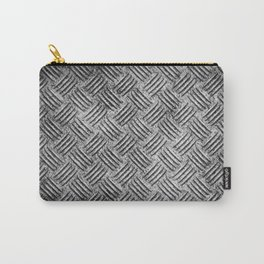 steel diamond plate texture Carry-All Pouch