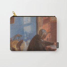 Anna Ancher, The Artist's Mother, 1909 Carry-All Pouch