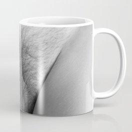 Origin. Delicate Pussy of Sexy Nude Woman Coffee Mug
