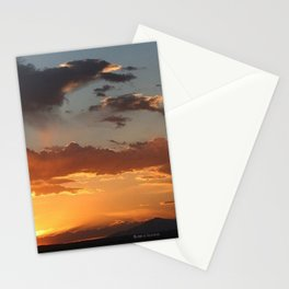 NEW MEXICO BLUE & GOLD Stationery Cards