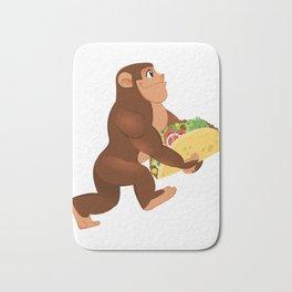 Bigfoot Taco Cinco de Mayo Funny Bath Mat
