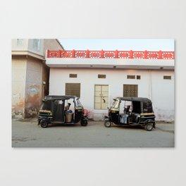 Autorickshaw Canvas Print