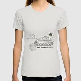 Michael Wittmann Panzer Ace 1331 Kursk Sand/Olive Green T-shirt