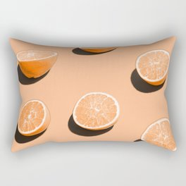 Orange Delight Rectangular Pillow