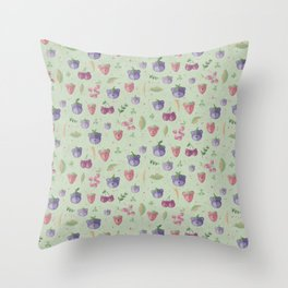 Bearries Throw Pillow