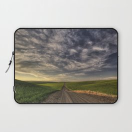 Back Road Solitude Laptop Sleeve