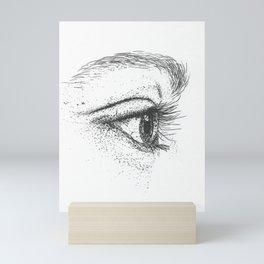 Eye yi yi Mini Art Print