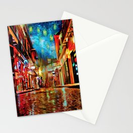 French Quarter Under the Stars Stationery Cards