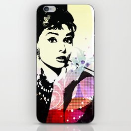 Audrey Hepburn iPhone Skin
