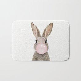 Bubble Gum Rabbit Bath Mat