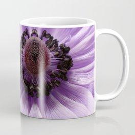 Lilac Anemone Flower Coffee Mug