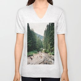 Denny Creek Unisex V-Neck