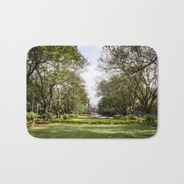 Trees Stretching over Cubbon Park, Bangalore, India Bath Mat