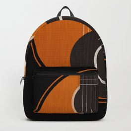 Yin Yang Guitar Gift Guitarist Backpack