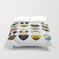 ewok Duvet Covers featuring Character Hearts by Hugh & West