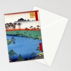 Hiroshige Kumanojūnisha Shrine Stationery Cards