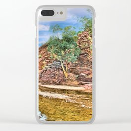 Rocks at Brachina Gorge, Flinders Ranges, Sth Australia Clear iPhone Case