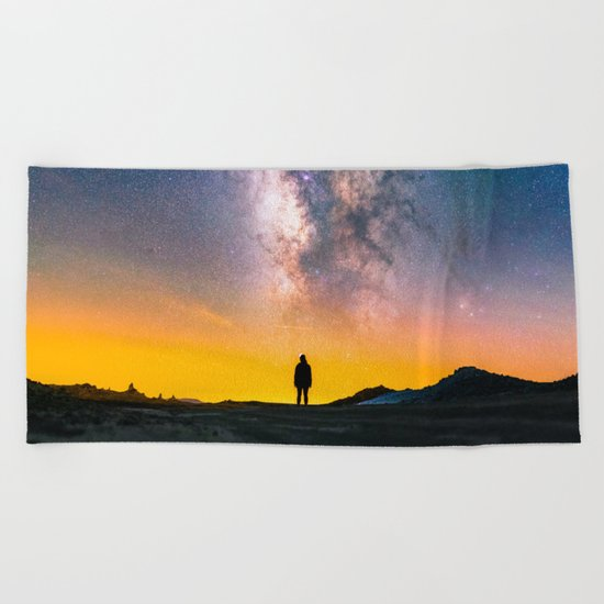 Heavens Above Beach Towel